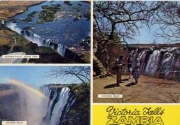 Victoria Falls - Zambia - Formato Grande Viaggiata – E 7 - Cartoline