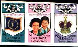 72267) GRENADA+GRENADINES-1977-QEII Royal VISITA IN SILVER JUBILEE -N.195-97..-MNH** DA CARNET - Grenada (1974-...)