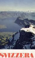 Svizzera Centrale - Vista Dal Pilato Sul Lago Del Quatttro Cantoni - Formato Grande Non Viaggiata – E 7 - Cartoline