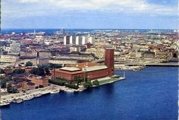 Stockholm - Stadshuset - Formato Grande Viaggiata – E 7 - Cartoline