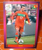 EURO2012 PANINI N. 279  NANI  STICKER NEW CON VELINA - Edizione Italiana