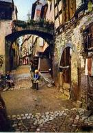 Riquewihr - Haut Rhin - Rue Des Juifs - Formato Grande Non Viaggiata – E 7 - Cartoline