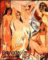 72270) GRENADA+GRENADINES-1981-100 ANN. NASCITA DI PABLO PICASSO.-MNH**BF.55 - Grenada (1974-...)