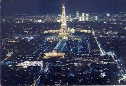 Paris - Panorama Sur L'ecole Militaire Le Champ De Mars La Tor Eiffel Et Le Palais De Chaillot - Formato Grande Viaggiat - Cartoline