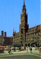 Munchen - Rathaus Und Frauenkirche - Formato Grande Non Viaggiata – E 7 - Cartoline
