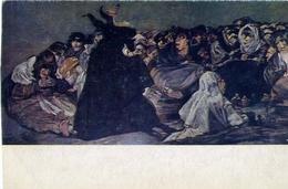 Museo Del Prado - Goya - Aquelarre Le Sabbast Wirches Sabbath - Formato Grande Non Viaggiata – E 7 - Cartoline