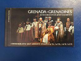 72271) GRENADA+GRENADINES- 1977 Opuscolo LA REGINA ELISABETTA GIUBILEO Autoadesivo Ricco - Grenada (1974-...)