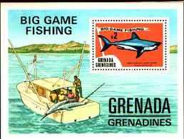 72272) GRENADA+GRENADINES- 1975-PESCA SPORTIVA-BF.7-MNH** - Grenada (1974-...)