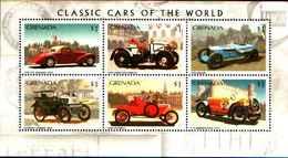 72274) GRENADA 1996  Vintage Classic Cars Oldtimer Vecchia Auto Automobile .-BF.414-MNH** - Grenada (1974-...)