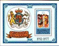 72275) GRENADA Silver Jubilee, 1977 , Royal Visit  .-BF.60-MNH** - Grenada (1974-...)