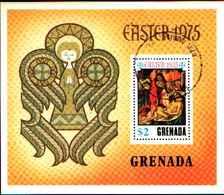 72279) GRENADA- 1975-PASQUA-BF.41 USATO - Grenada (1974-...)