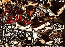 72280) GRENADA-1981-100 ANN. NASCITA DI PABLO PICASSO.-MNH**BF.92 - Grenada (1974-...)