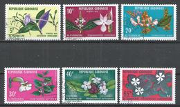 Gabon 1972. Scott #284-9 (U) Flowers Of Acanthus Family * Complet Set - Gabon (1960-...)