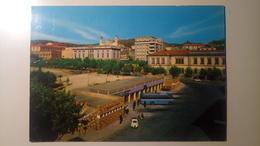 Nuoro - Piazza Vittorio Emanuele - Stazione Pullman - Viaggiata 1966 - Nuoro