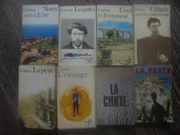 Petit Lot - 8 Livres D'Albert CAMUS - Lots De Plusieurs Livres