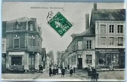 27A1 - BRETEUIL - Rue Gambeta - Magasin Graineterie Bourrellerie - Brouette - Breteuil