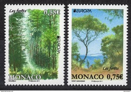 MONACO 2011  - SERIE Y.T. 2782 / 2783 - NEUFS ** - Monaco