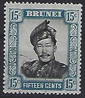 Brunei 1952 Sultan  15c (o) - Brunei (...-1984)