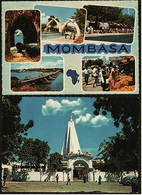 2 X Kenia  -  Mombasa / Hindu Temple  -  Ansichtskarten Ca. 1973    (9137) - Kenia