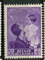 Belgium 1937 50c + 5cf  Queen Astrid  Issue #B192  MH - Belgium