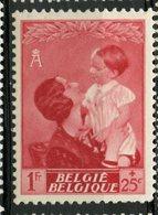 Belgium 1937 1f + 25c  Queen Astrid  Issue #B194  MH - Belgium
