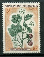 St. Pierre Miquelon 1970 3f Flowers Issue #400  MNH - St.Pierre & Miquelon