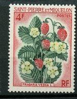 St. Pierre Miquelon 1970 4f Flowers Issue #401  MNH - St.Pierre & Miquelon