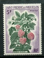 St. Pierre Miquelon 1970 5f Flowers Issue #402  MNH - Unused Stamps