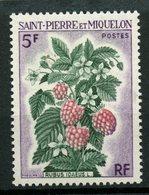 St. Pierre Miquelon 1970 5f Flowers Issue #402  MNH - St.Pierre & Miquelon