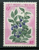 St. Pierre Miquelon 1970 6f Flowers Issue #403  MNH - St.Pierre & Miquelon