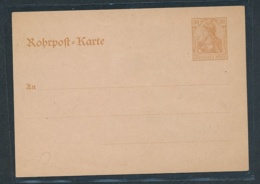 DR.-Ganzsache- Rohrpost   (oo5853 ) Siehe Scan - Alemania