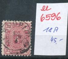 Finnland Nr. 18  A  O- Stempel...  (ee6596 ) Siehe Scan - Usati