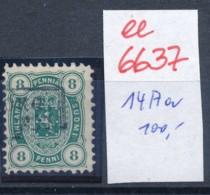 Finnland Nr. 14 A A   O- Stempel...  (ee6637 ) Siehe Scan - Usati