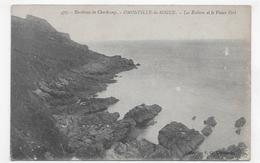 OMONVILLE LA ROGUE - N° 477 - LES ROCHERS ET LE VIEUX FORT - CPA NON VOYAGEE - Frankreich