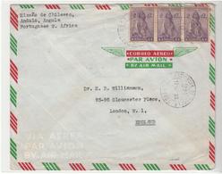 Angola / Airmail / Ceres / G.B. / Belgian Congo / Postmarks - Angola