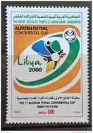 L21 - Libya 2009 MNH Stamp - FUTSAL CUP - Football Sport - Libië