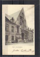 21136 . DIJON . PALAIS DE JUSTICE .  (recto/verso) .  ANNEE  1903 - Dijon