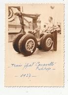 "PHOTO - AVIATION - TRAIN PRINCIPAL ""CARAVELLE"" - PROTOTYPE - 1957 - Aviation"