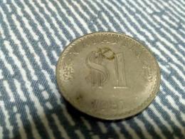Malaysia 1981 1 Ringgit Coin BU Parliament Copper Nickel - Malaysia