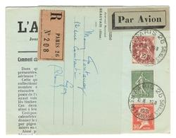 8379 - L'AEROGRAMME - 1927-1959 Lettres & Documents
