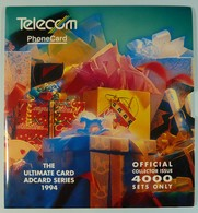 NEW ZEALAND - GPT Set Of 4 - 1994 Ultimate Card Adcard - 4000ex - NZ-CP-30 - MINT In Folder - Collector Pack - New Zealand