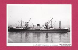 "BATEAU - CARGO - "" CARBET "" - - Commerce"