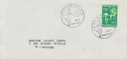 Enveloppe  FDC  1er  Jour  LUXEMBOURG   Prélude  Jeux  Olympiques  MEXICO   1968 - Estate 1968: Messico