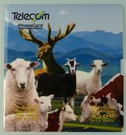 NEW ZEALAND - GPT Set Of 5 - 1994 Farm Animals - 4500ex - NZ-CP-31 - MINT In Folder - Collector Pack - New Zealand