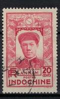 INDOCHINE          N°  YVERT   177        OBLITERE       ( O   2/41 ) - Indochina (1889-1945)