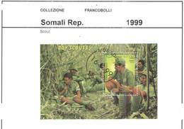 Somali Rep.Po 1999 Boy Scout   Scott.S/s...See Scan On Page - Somalia (1960-...)