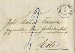 1855 RHEINBOELLEN Bf An Joh.Maria Farina  Cöln - [1] Prephilately