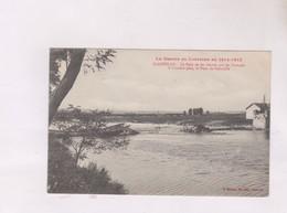 CPA DPT 50 ? BLAINVILLE SUR MER, LE PONT DE FER DETRUIT - Blainville Sur Mer