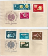 B2093 Hungary Science Polar Space Transport Astronomy FDC Cover - International Geophysical Year