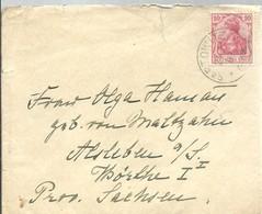 LETTER 1907 SARTOWITZ - Cartas